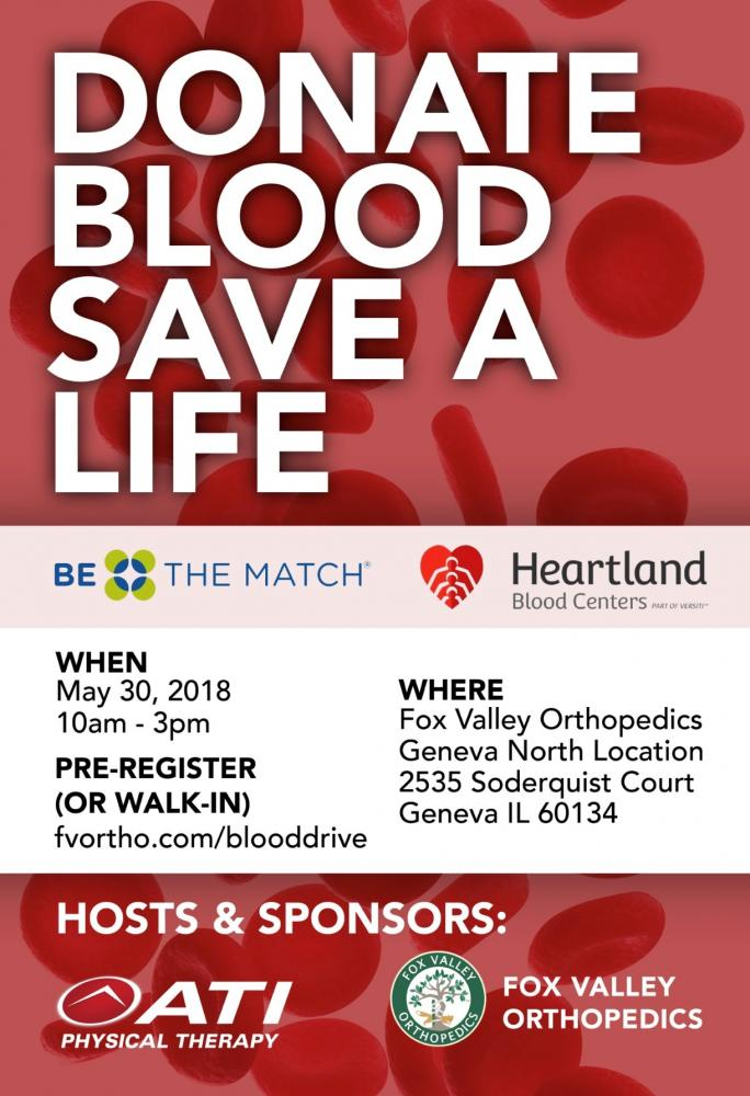 2018 FVO and ATI Blood Drive