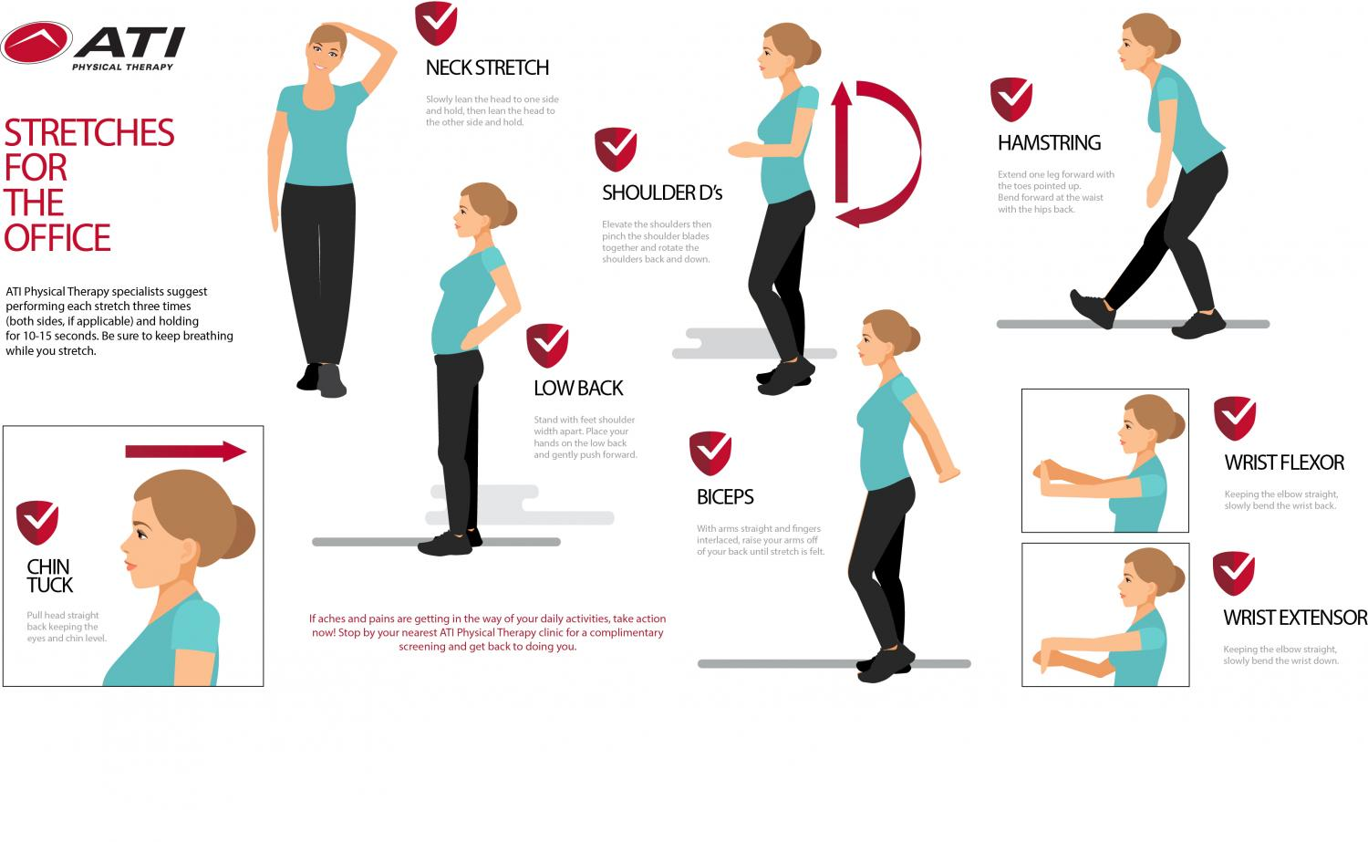 Simple Stretches For The Office Ati