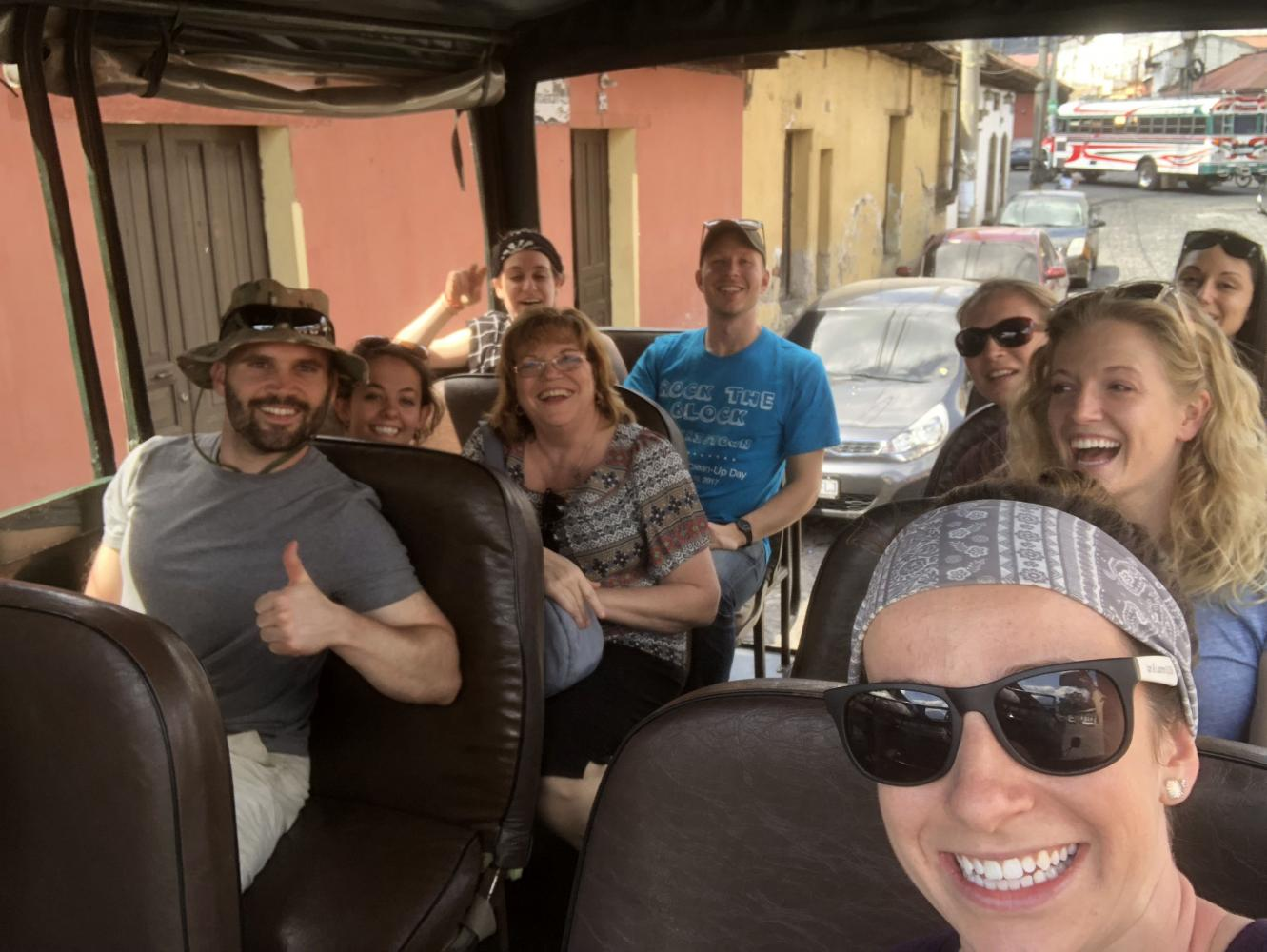 Guatemala Mission Works Trip - Bus Ride