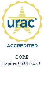 URAC Accreditation Seal 2017-2020