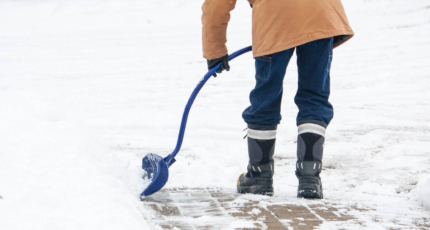 Snow Shoveling Injury Prevention