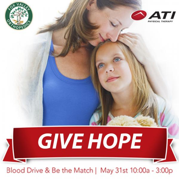 3rd Annual Blood Drive and Be The Match Event