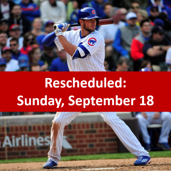 Kris Bryant Meet & Greet - Sunday, September 18!