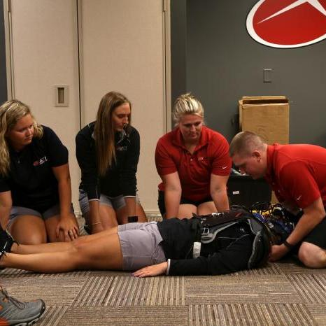 """""""Kick-off Week"""" Prepares ATI Athletic Trainers for Sport Emergencies"""
