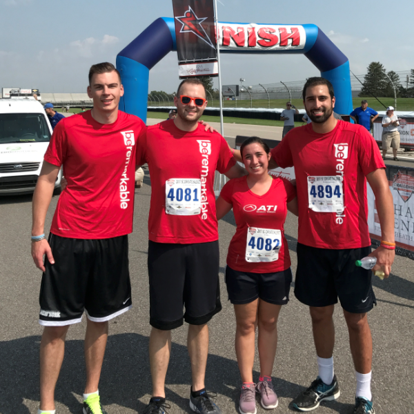 ATI Finishes Strong at ISC Corporate Challenge in Indianapolis