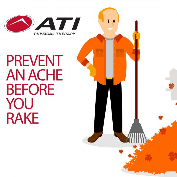 Avoiding Aches and Pains when Raking the Leaves this Fall