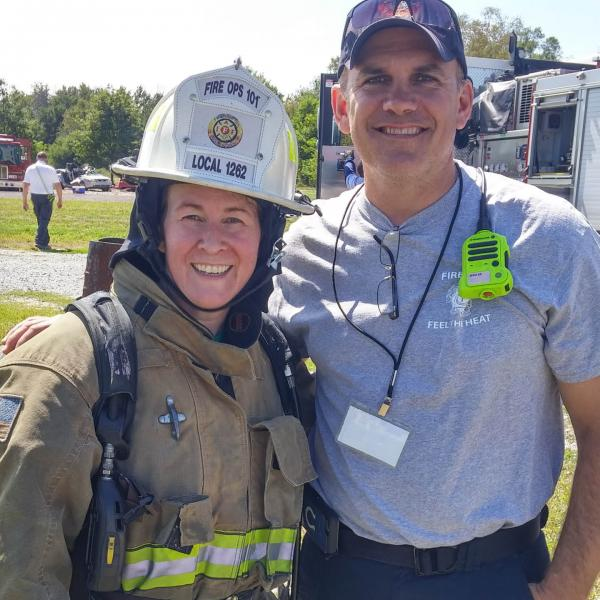 ATI's Darla Gipson Takes on the Firefighter Challenge