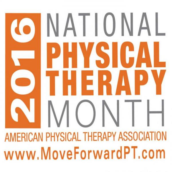 National Physical Therapy Month 2016
