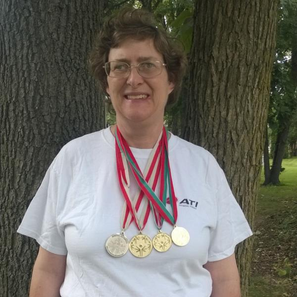 Katie: ATI's Decorated Special Olympian