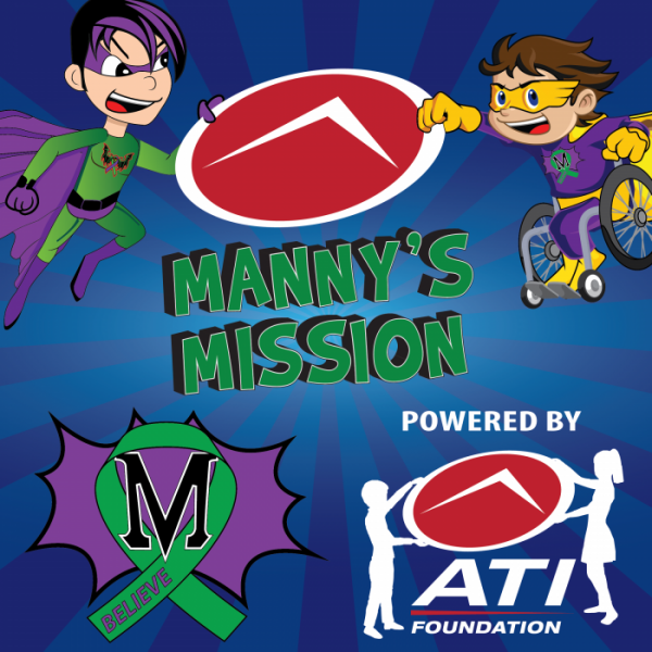 Manny's Mission & ATI Foundation Join Forces