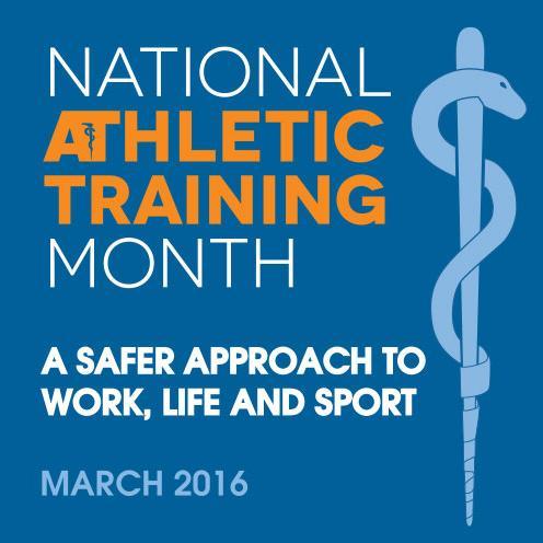 ATI Celebrates National Athletic Training Month