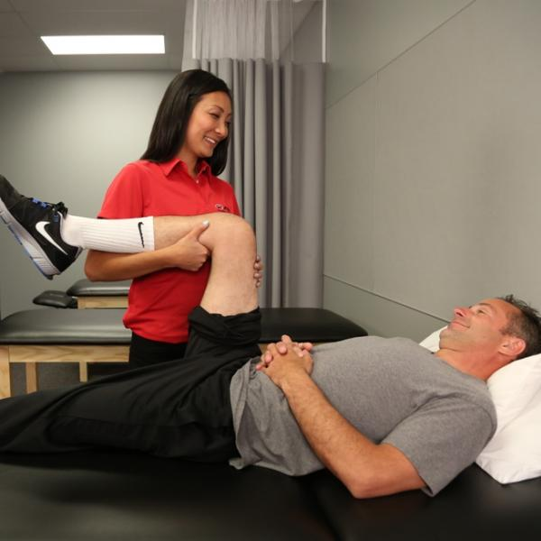 From being a fan to improving function: A day in the life of a physical therapist