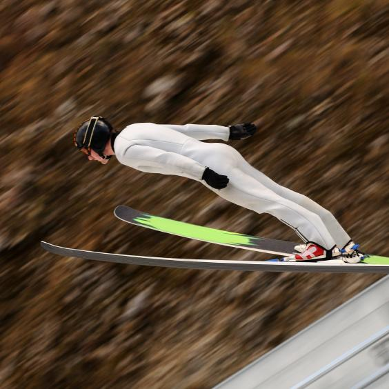 Would You Ski Jump 6 Months After Knee Surgery?