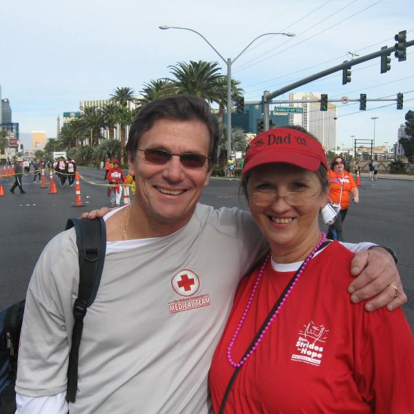 Physical therapist leads cancer survivors, advocates to finish line