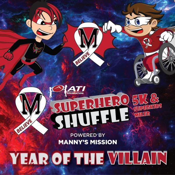 ATI Foundation SuperHero Shuffle 5K & SUPERKIDS Miler