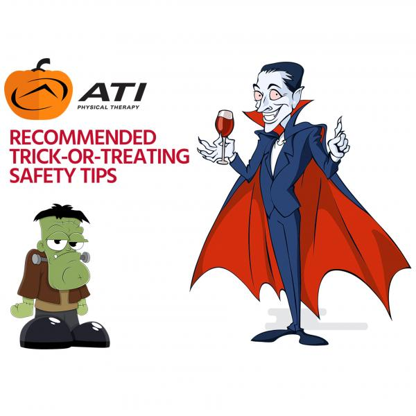 Playing it Safe on Halloween with Trick-or-Treating Safety Tips from ATI Physical Therapy
