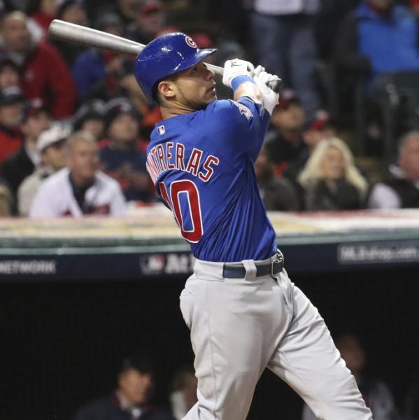 Meet Willson Contreras of the Chicago Cubs