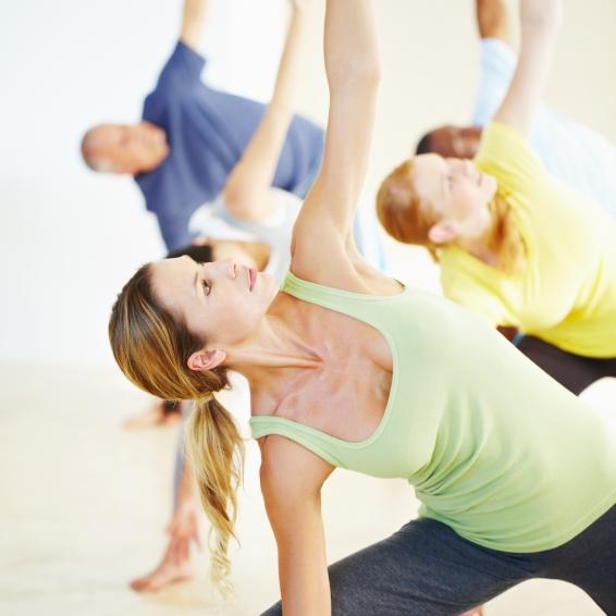 "Yoga -- the ""all-encompassing"" workout"
