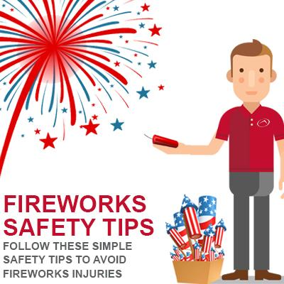 Safety Tips to Avoiding Fireworks-Related Injuries this Fourth of July